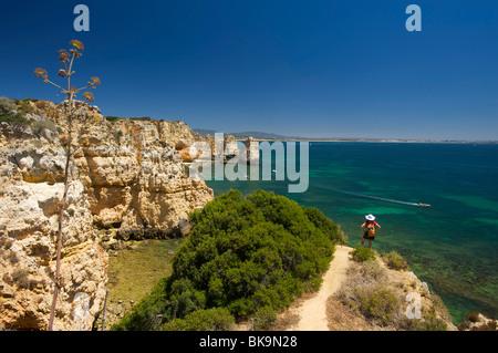 Ponta da Piedade, Algarve, Portugal, Europe - Stock Photo