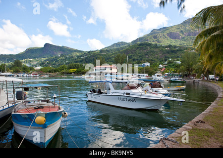 Yacht Club, Seychelles Marine Charter Association on 5th June Avenue, the capital city of Victoria, Mahe Island, Seychelles, In