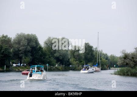 Rhine delta, Vorarlberg, Austria - Stock Photo