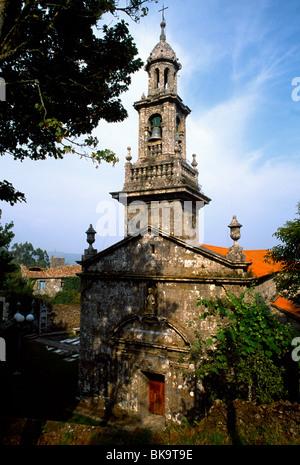 Nr Padron Galicia Spain Pilgrim Church On The Route - Stock Photo