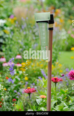 A Rain Gauge In A Garden Stock Photo Royalty Free Image 13118446