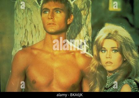BARBARELLA (1967) JOHN PHILLIP LAW, PYGAR, JANE FONDA, BARBARELLA BRB 026 - Stock Photo