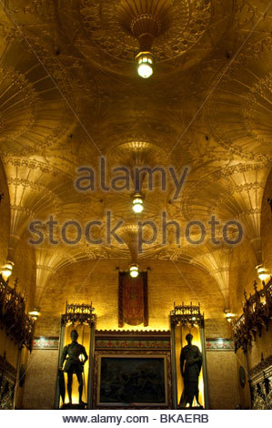 Opulently decorated State theatre entrance hall, Sydney, Australia - Stock Photo