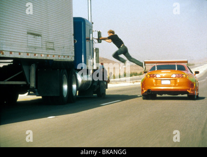 THE FAST AND THE FURIOUS (2001) RACER X, STREET WARS (ALT) PAUL WALKER FATF 071 - Stock Photo