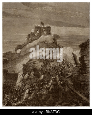 From 15th to 29th September 1589, Battle of Arques. - Stock Photo