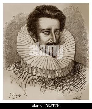 Anne de Batarnay de Joyeuse (1560-1587): Mignon of King Henry III of France. - Stock Photo