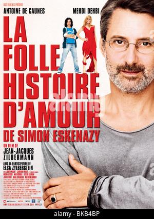 La Folle histoire d'amour de Simon Eskenazy  Year  2009 Director  Jean-Jacques Zilbermann  Antoine de Caunes Movie - Stock Photo