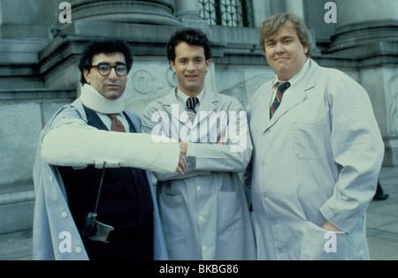 SPLASH (1984) EUGENE LEVY, TOM HANKS, JOHN CANDY SPL 007 - Stock Photo