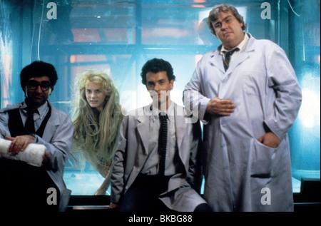 SPLASH (1984) EUGENE LEVY, DARYL HANNAH, TOM HANKS, JOHN CANDY SPL 008 - Stock Photo