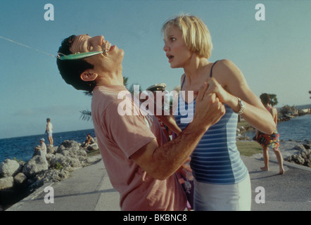 THERE'S SOMETHING ABOUT MARY BEN STILLER, CAMERON DIAZ TSAM 073 ORIGINAL 35MM - Stock Photo