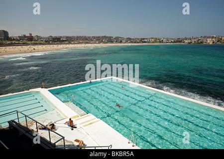 Bondi Icebergs A Swimming Club By The Beach At Bondi Sydney Nsw Stock Photo Royalty Free