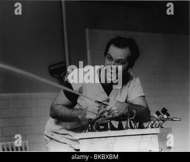 ONE FLEW OVER THE CUCKOO'S NEST(1975) JACK NICHOLSON OFC 001P - Stock Photo