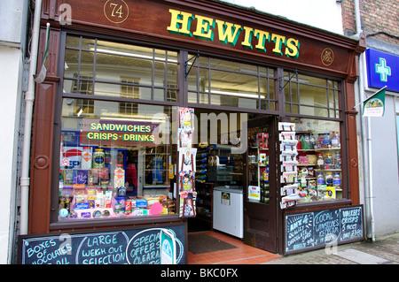 Hewitts traditional store, Parsonage Street, Dursley, Gloucestershire, England, United Kingdom - Stock Photo