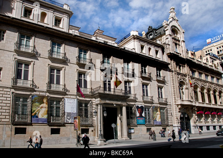 The Academy of San Carlos Madrid Museo de la real Academia de Bellas Artes de San Fernando - Stock Photo