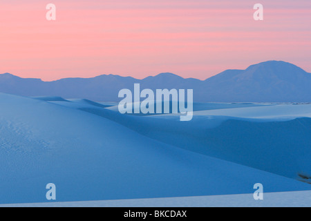 White Sands National Monument, New Mexico. - Stock Photo