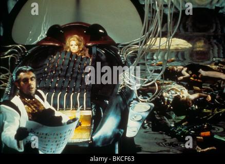 BARBARELLA (1967) MILO O'SHEA, DURAND DURAND, JANE FONDA, BARBARELLA BRB 004 - Stock Photo