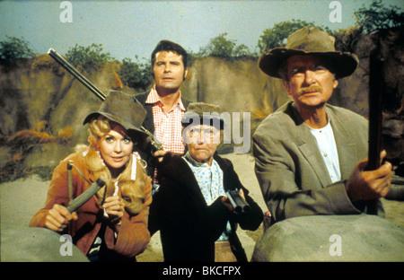 THE BEVERLY HILLBILLIES (TV) DONNA DOUGLAS, MAX BAER, IRENE RYAN, BUDDY EBSEN BHTV 001 - Stock Photo