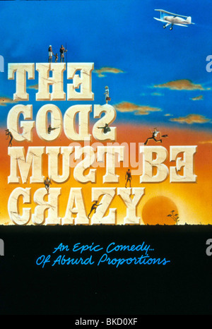 THE GODS MUST BE CRAZY (1980) POSTER GMBC 002 - Stock Photo