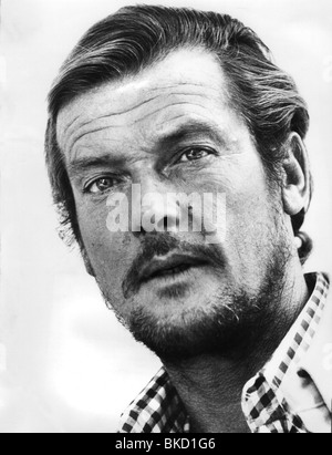 Moore, Roger, * 14.10.1927, British actor, portrait, Additional-Rights-Clearances-NA - Stock Photo