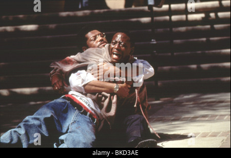 HIGHER LEARNING (1994) OMAR EPPS, LAURENCE FISHBURNE HIGH 004 - Stock Photo