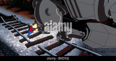 THE IRON GIANT -1999 - Stock Photo