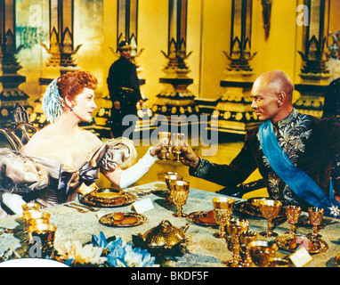THE KING AND I (1956) DEBORAH KERR, YUL BRYNNER KAI 002CP - Stock Photo