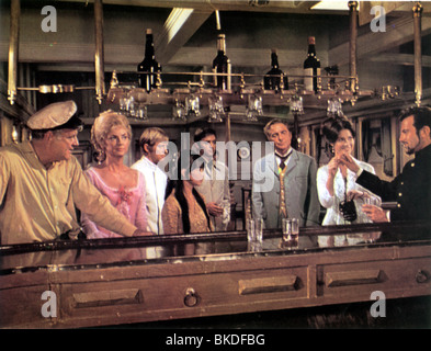 KRAKATOA :EAST OF JAVA (1968) BRIAN KEITH, BARBARA WERLE, JOHN LEYTON, JACQUI CHAN, SAL MINEO, ROSSANO BRAZZI, DIANE - Stock Photo