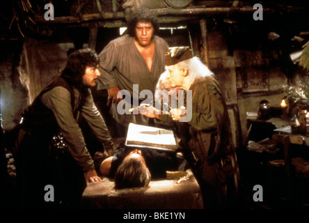 THE PRINCESS BRIDE (1987) MANDY PATINKIN, ANDRE THE GIANT, CARY ELWES, BILLY CRYSTAL PRB 032