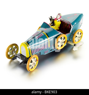 traditional toy car - Stock Photo