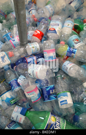 recycling, bottle, plastic, pollution, ecology - Stock Photo