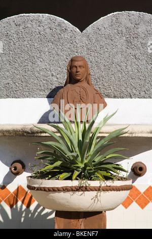 Zocalo Plaza in Acapulco City, State of Guerrero, Mexico, North America - Stock Photo