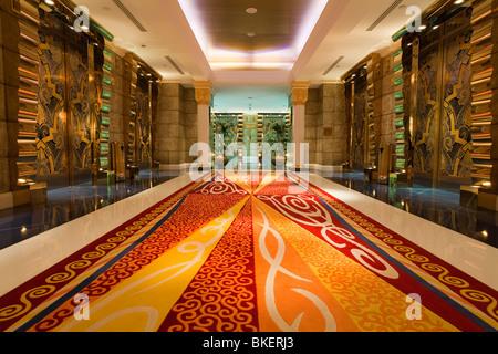 Burj Al Arab Hotel, Dubai, UAE, United Arab Emirates - Stock Photo