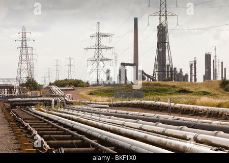 Heavy industry on Teeside, North East, UK. - Stock Photo