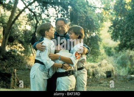 THREE NINJAS (1993) MICHAEL TREANOR, CHAD POWER, MAX ELLIOTT SLADE TNJA 005 - Stock Photo