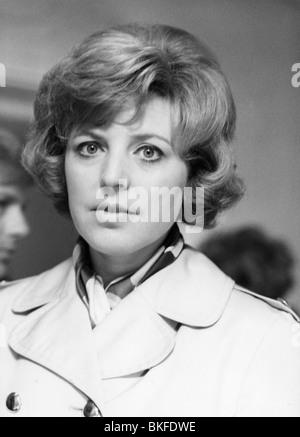 TV series, 'Tatort', episode 'Der Mann aus Zimmer 22' , DEU 1974, director: Heinz Schirk, Scene with: Marie Luise - Stock Photo