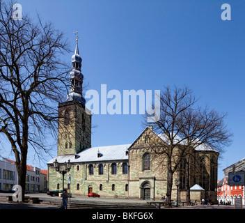 St. Petri Church, Soest, North Rhine-Westphalia, Germany, Europe - Stock Photo