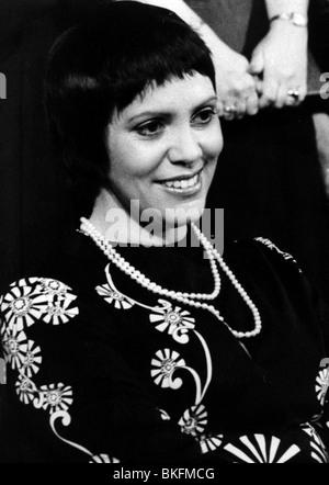 Fassbaender, Brigitte, * 3.7.1939, German opera singer, portrait, circa 1970, Additional-Rights-Clearances-NA - Stock Photo