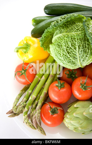 Fresh various vegetables - Stock Photo