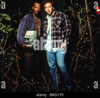 AMOS AND ANDREW (1993) SAMUEL L JACKSON, NICOLAS CAGE ASAW 003 - Stock Photo