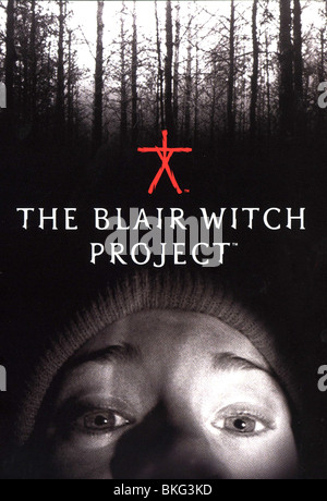 THE BLAIR WITCH PROJECT (1999) POSTER BWP 001 DVDS - Stock Photo