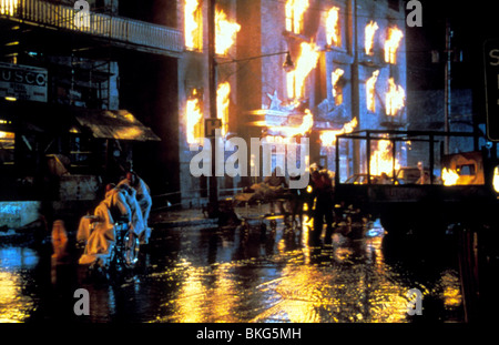 CITY ON FIRE -1979 - Stock Photo