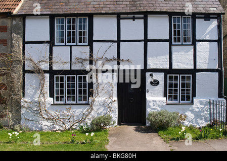Private cottage named 'The Old Rose & Crown' in Steeple Ashton - Stock Photo