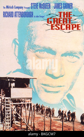 THE GREAT ESCAPE -1963 POSTER - Stock Photo