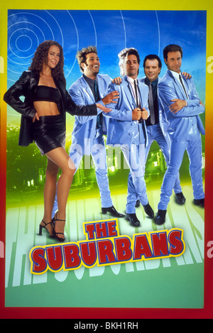 THE SUBURBANS -1999 POSTER - Stock Photo