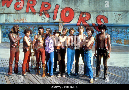 THE WARRIORS (1979) DORSEY WRIGHT, MARCELINO SANCHEZ, DAVID HARRIS, TOM MCKITTERICK, JAMES REMAR, TERRY MICHOS, - Stock Photo