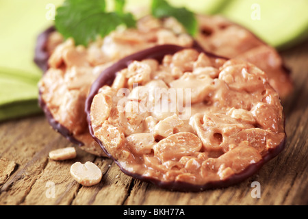 Almond cookies - Stock Photo
