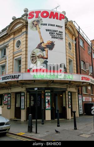 Stomp, Ambassadors Theatre, West Street, London, Britain - 2010 - Stock Photo