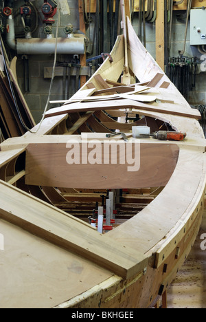 The frame of a Gondola in a workshop in Venice Stock Photo: 29274867 ...