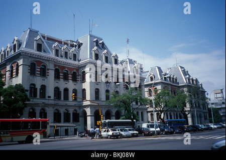 Buenos Aires, Argentina. Public Administration building in eclectic style. - Stock Photo