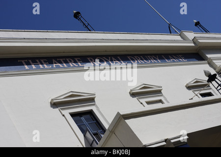The Theatre Royal Drury Lane in Catherine Street,signage. - Stock Photo